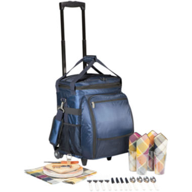 jcpenney.com | Picnic Time® Avalanche Picnic Cooler on Wheels – Service for 4