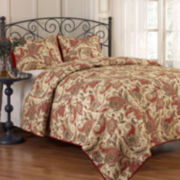Waverly® Rustic Retreat 3-pc. Paisley Quilt Set