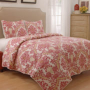 Waverly® Bedazzle 3-pc. Scroll Quilt Set