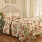 Waverly® May Medley 3-pc. Floral Quilt Set