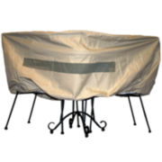 SURE FIT® Bistro Table and Chair Set Cover
