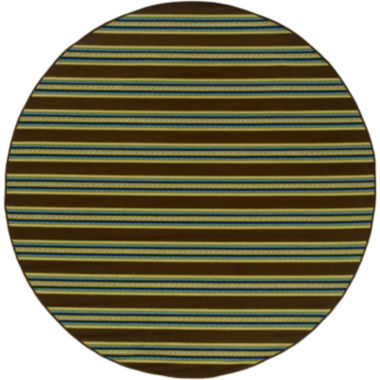 jcpenney.com | Covington Home Bars Striped Indoor/Outdoor Round Rug