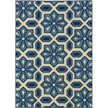 jcpenney.com | Covington Home Crystal Floral Indoor/Outdoor Rectangular Rug