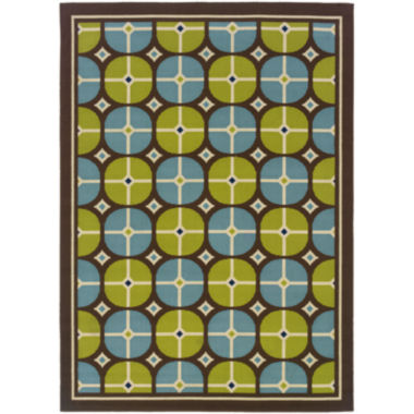 jcpenney.com | Covington Home Disc Indoor/Outdoor Rectangular Rug