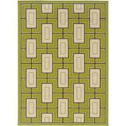Pattern Indoor/Outdoor Rectangular Rug