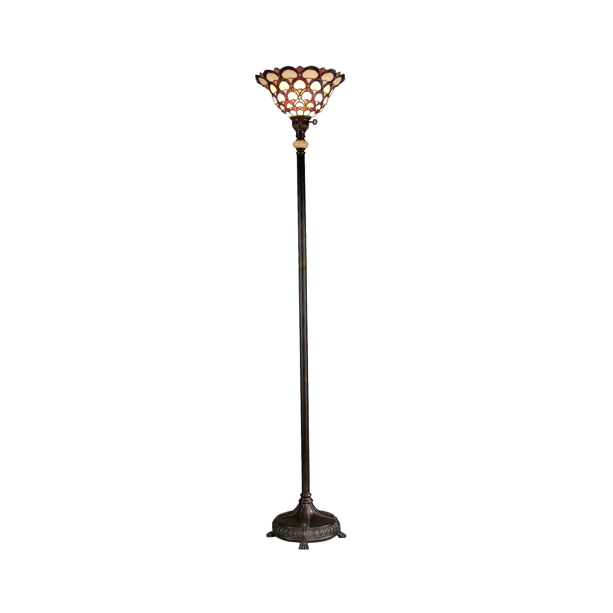 dale tiffany floor lamps buy dale tiffany floor lamp. Black Bedroom Furniture Sets. Home Design Ideas