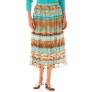 Alfred Dunner® Ipanema Tribal Print Skirt