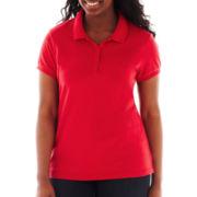 Arizona Short-Sleeve Polo Shirt - Plus