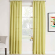 Remi Solid Rod-Pocket Curtain Panel