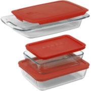 Pyrex® 6-pc. Easy Grab Bakeware Set