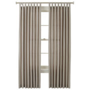 JCPenney Home™ Holden Tab-Top Cotton Curtain Panel