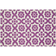 Loloi Piper Plum Fairies Rectangular Rugs