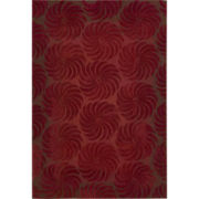 Nourison® Harrison High-Low Carved Rectangular Rug