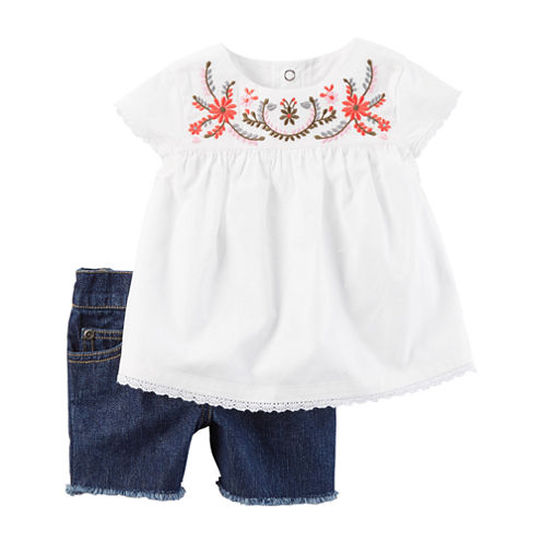 Carter's 2-pc. Short Set Baby Girls