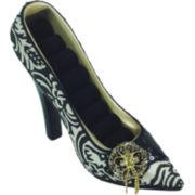 Black & White Shoe Ring Holder