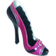 Purple Shoe Ring Holder