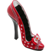 Red Polka Dot Shoe Ring Holder