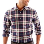 Claiborne Long-Sleeve Button-Front Shirt