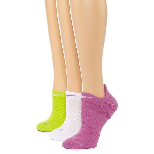 Nike® Dri-FIT 3-pk. No-Show Socks