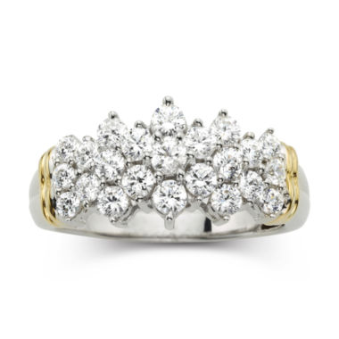 jcpenney.com | 1 CT. T.W. Diamond Two-Tone 10K Gold Ring