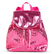 On The Verge Sequin Backpack