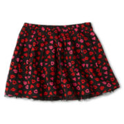 Total Girl® Woven Pleated Skirt - Girls Plus