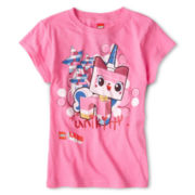 Lego Movie Unikitty Graphic Tee- Girls 7-16