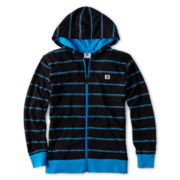 DC Shoes® Striped Full-Zip Hoodie - Boys 8-20