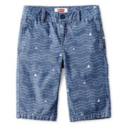 Levi's® Chambray Wave Beachcomber Shorts - Boys 8-20