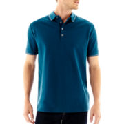 Claiborne® Tipped Polo