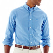Dockers® Long-Sleeve Mini-Check Shirt