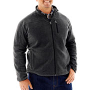 The Foundry Supply Co.™ Full-Zip Polar Fleece Jacket–Big & Tall