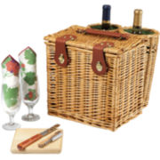 Picnic Time® Vino Wine Basket – Service for 2