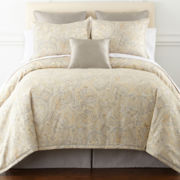 Liz Claiborne Amhurst 4-pc. Paisley Comforter Set & Accessories