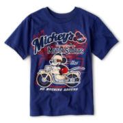 Disney Collection Mickey's Motorsports Short-Sleeve Graphic Tee - Boys 2-12