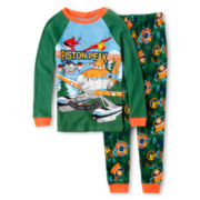 Disney Collection Planes 2-pc. Pajama Set - Boys 2-10