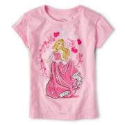 Disney Aurora Short-Sleeve Graphic Tee - Girls 2-10