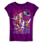 Disney Flower Fairies Short-Sleeve Graphic Tee - Girls 2-12