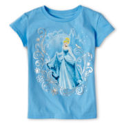 Disney Cinderella Short-Sleeve Graphic Tee - Girls 2-10