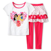 Disney Collection Princesses 2-pc. Dress Set - Girls 2-10