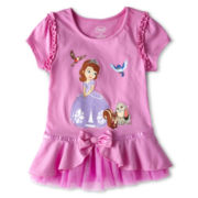 Disney Collection Sofia Fashion Top - Girls 2-10