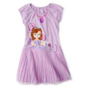 Disney Collection Sofia Dress - Girls 2-10