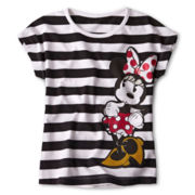Disney Red Minnie Fashion Top - Girls 2-10