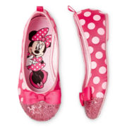 Disney Pink Minnie Girls Flats