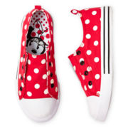 Disney Red Minnie Mouse Girls Sneakers