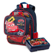 Disney Cars Backpack and Accessories