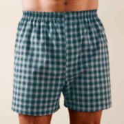Stafford® Essentials 3 Pack Woven Blended Boxer - Big & Tall