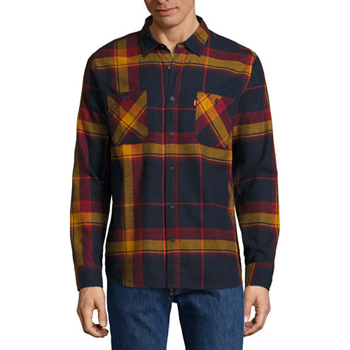 Levi's Long Sleeve Flannel Shirt