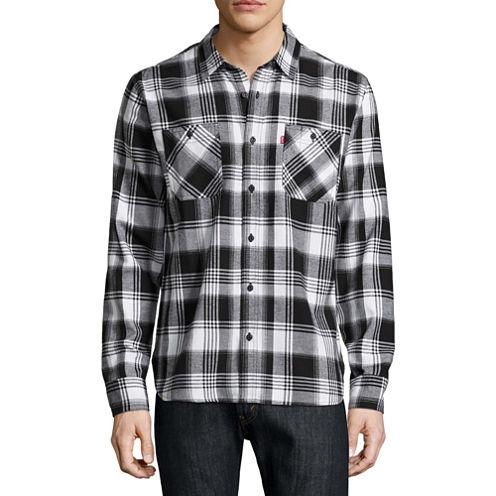 Levi's Long Sleeve Flannel Shirt
