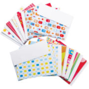 Box of Cards & Envelopes—Bright Print